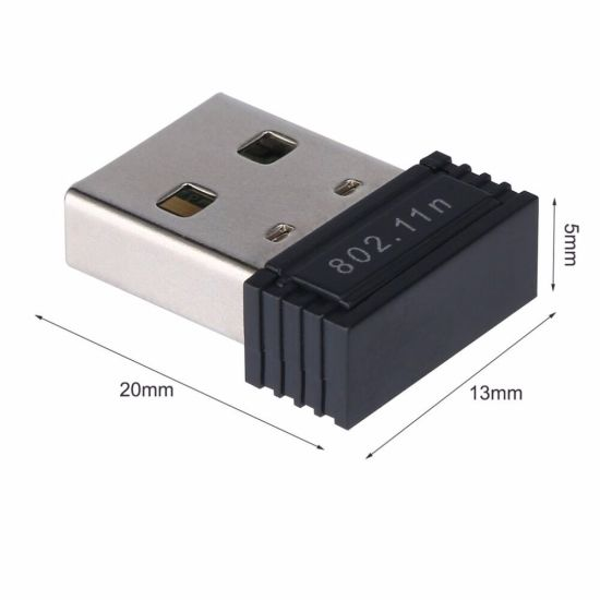150Mbps 2.4GHz Rtl8188 Mini USB Wireless WiFi LAN Network Card Adapter WiFi Dongle pictures & photos