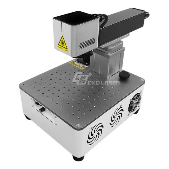 22kg Portable Fiber Laser Marking Printing Machine for Brass