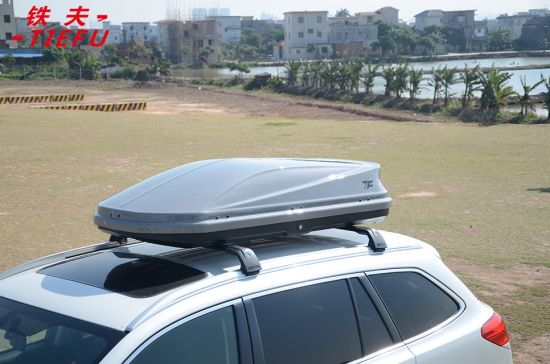 Shiny Gray Roof Cargo Box Car Roof Box Car Roof Box Storage China Rooftop Rack Luggage Carrier Roof Cargo Box Made In China Com