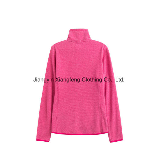 Ladies Sport Outdoor Polar Fleece Jacket pictures & photos