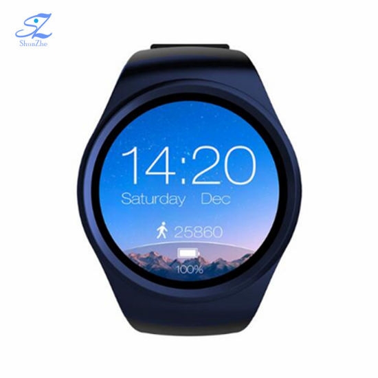 Multi-Function Kw18 Phone Call Fashion Sport Andriod Smart Watch with  Bluetooth Alarm Clock