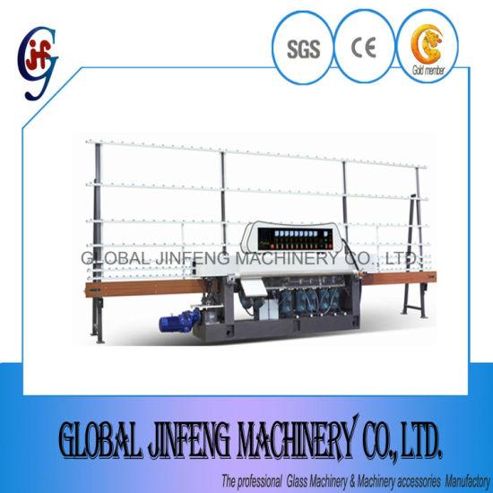 9 Motors Automatic Glass Edge/Edging Grinding and Polishing Processing Machine (JFE9243)