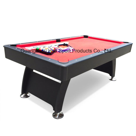 6ft 7ft Mdf Pool Billiard Dining Table With Tennis Top Ping