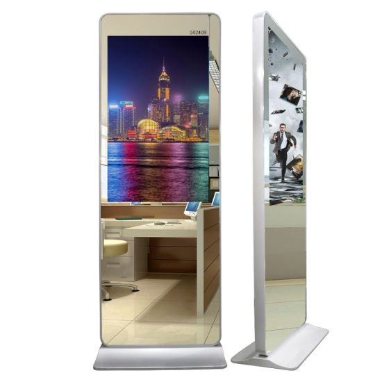 32~98 Inch Magic Mirror LCD Screen Display LED Monitor Network WiFi Ad Player Multimedia Video Advertising Player Digital Signage