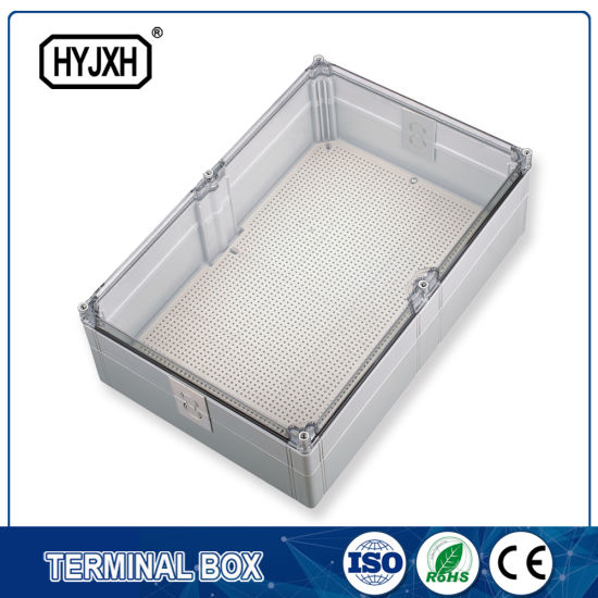 China Transparency Cover Waterproof Junction Box - China