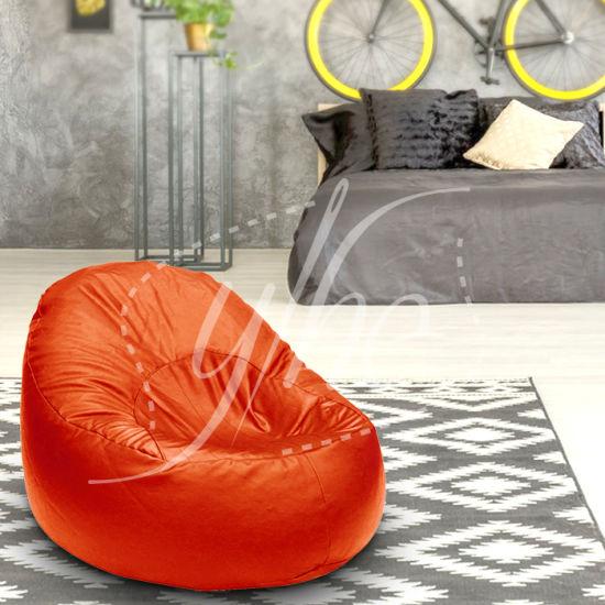 Pleasing China Oval Bean Bag Comfortable Lazy Bone Chair Medium Machost Co Dining Chair Design Ideas Machostcouk