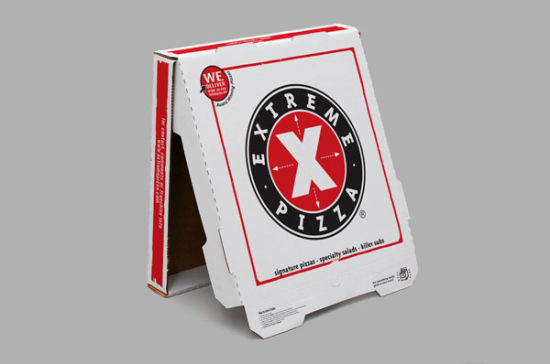 china food packaging box pizza box with customized printing takeout