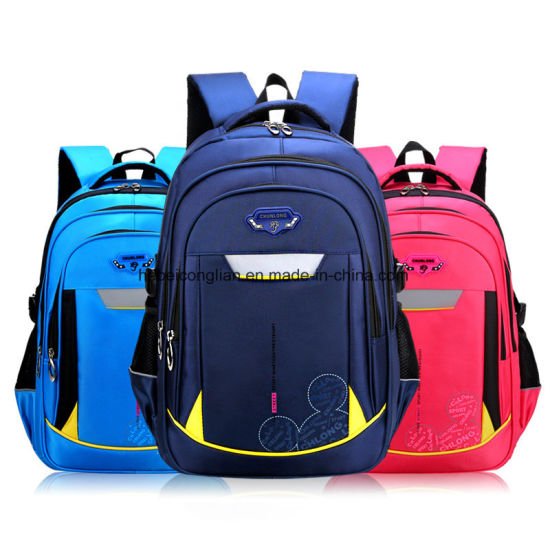 1d3f4ff93590 New Fashion Super Kids School Bag Lightweight Waterproof Fashion Backpack
