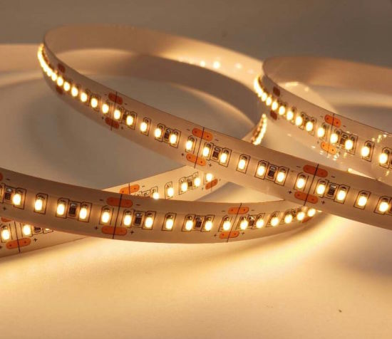 2110 High CRI Ra>95 R9 >60 One Bin Small Size High Density 240LED 700LED Per Meter LED Strip pictures & photos