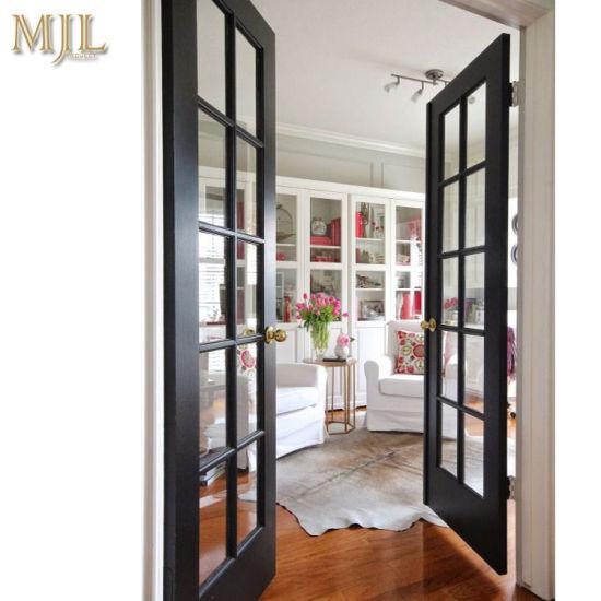 China Shower House Door Glass Casement Aluminum Door China Exterior Door Single Aluminum Casement Doors