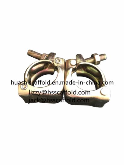 Wholesale British Pressed Forged Fixed Scaffold Double Coupler for Construction