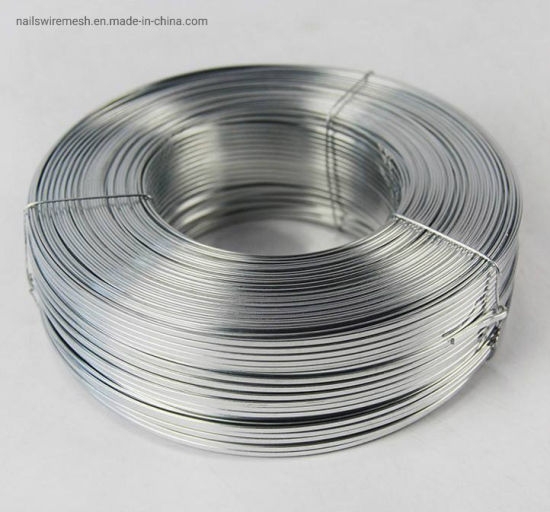 High tensile strength galvanized stainless steel wire/flat wire for carton box /book stitching wire