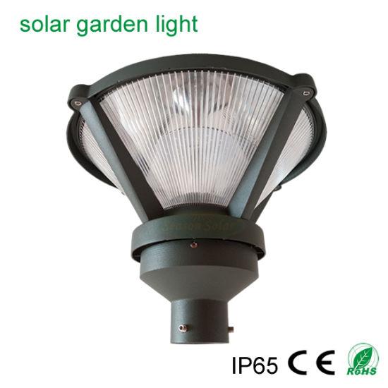 High Lumen Remote Controll LED Lighting CE Outdoor Garden Decoration Light 9W Solar Garden Post Light