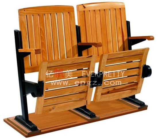 School Furniture for School Wooden College Folding Step Chair pictures & photos