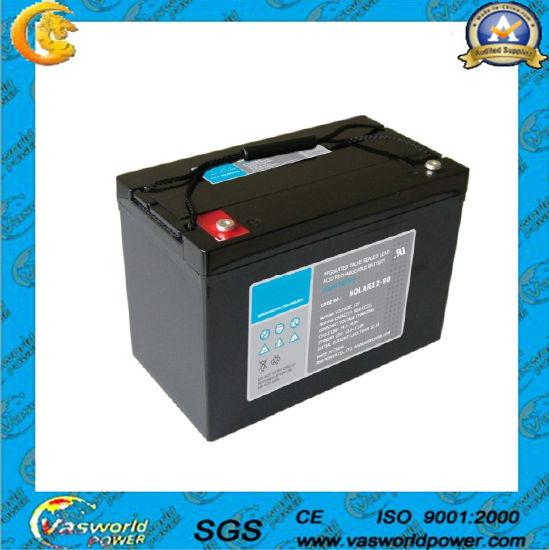 12V Good Quality VRLA Battery for Solar Energy