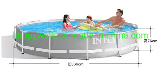 China Factory Intex Ultra Round Above Ground Frame Swimming Pool Frame Piscinas Swimming Pool China For Sale China Intex Swimming Pool And Inflatable Pool Price Made In China Com