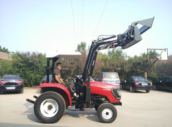40HP Wheel Tractor with Multifunctional Implements pictures & photos