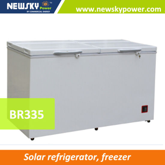 238L Capacity DC Solar Powered Deep Freezer 12V Solar Power pictures & photos