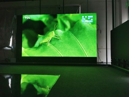 Indoor LED TV P1.923 LED Display Full Front Access Screen
