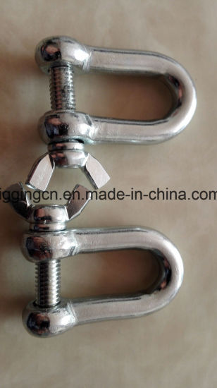 Customed Forged D Shackle with Special Pins and Unnormal Size pictures & photos