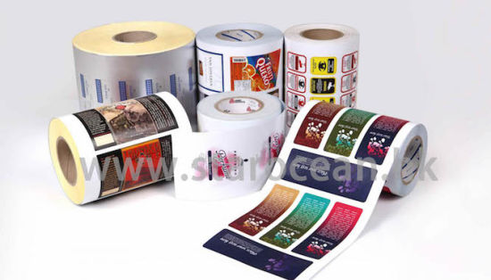 Outdoor Packaging Sticker Labels