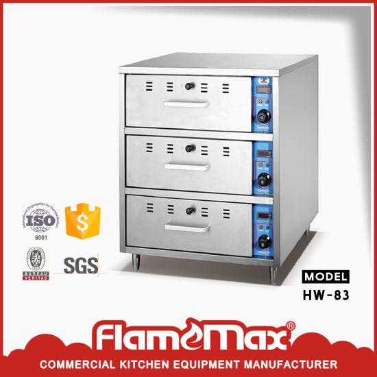 Stainless Steel 3-Drawer Food Warmer (HW-83)