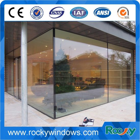 China Exterior Frameless Frosted Commercial Residential