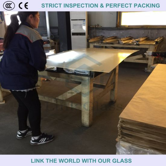 3.2mm Tempered Ultra Clear Mistlite Glass Used for Greenhouse pictures & photos