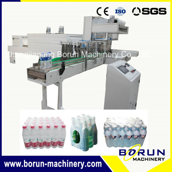 Automatic Non-Tray PE Film Shrink Wrap Packing Machine for Bottle Beverage