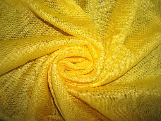 100% Ramie Single Jersey Fabric for Garment Use pictures & photos