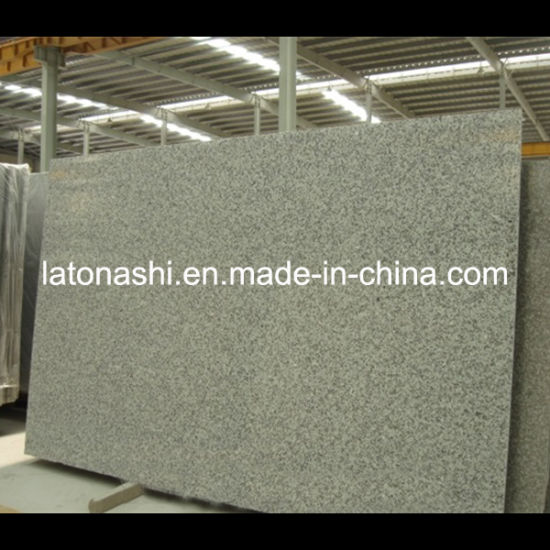 China Polished Flamed Grey Granite Slab for Tombstone, Paving, Countertop pictures & photos
