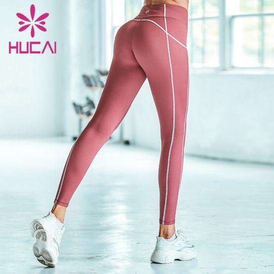 Custom Women Yoga Pants High Waisted Fitness Legging