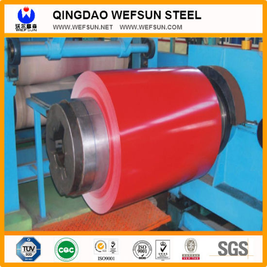 HDG/Gi/Secc Dx51 Zinc Cold Rolled/Hot Dipped Galvanized PPGI Color Coated Steel Coils pictures & photos
