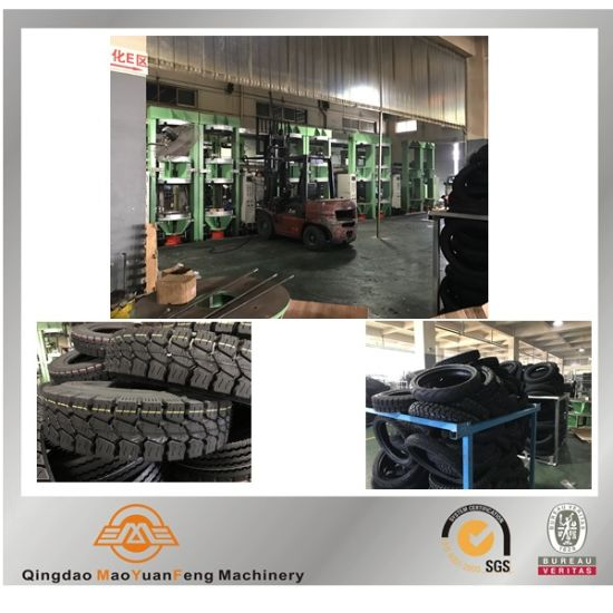 Motorbike Motor Bicycle Rubber Tyre Tire Vulcanizing Machine with ISO BV SGS pictures & photos