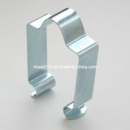 customized stamping flat spring steel clips china supplier china