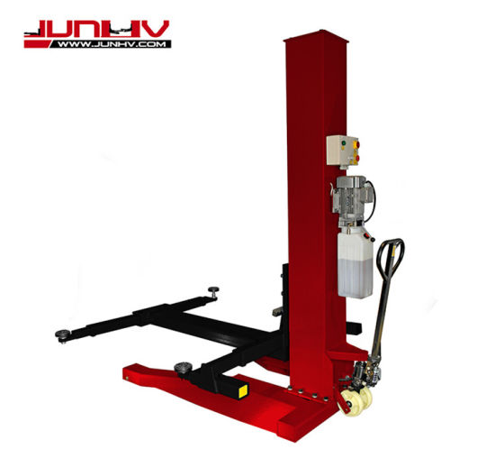 Super Quality Single Cylinder Single Post Car Lift in China