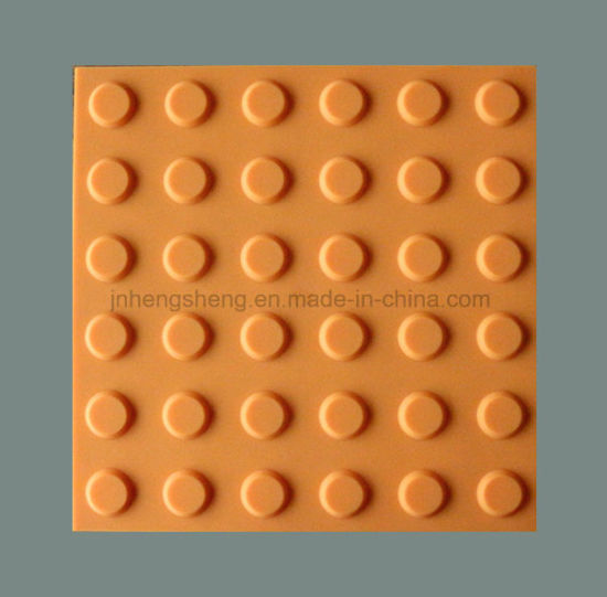 Environmental Protection Rubber Tactile Tile Paving Indicator