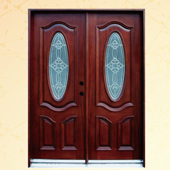 Swing Solid Wood Entrance Door