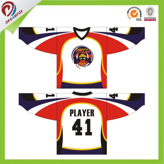Latest Best Ice Hockey Jersey Sets Factory Custom Made Hockey Jerseys Design pictures & photos