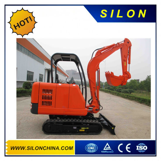 Silon Brand 2500kg Hydraulic Crawler Mini Excavators with Steel Track pictures & photos
