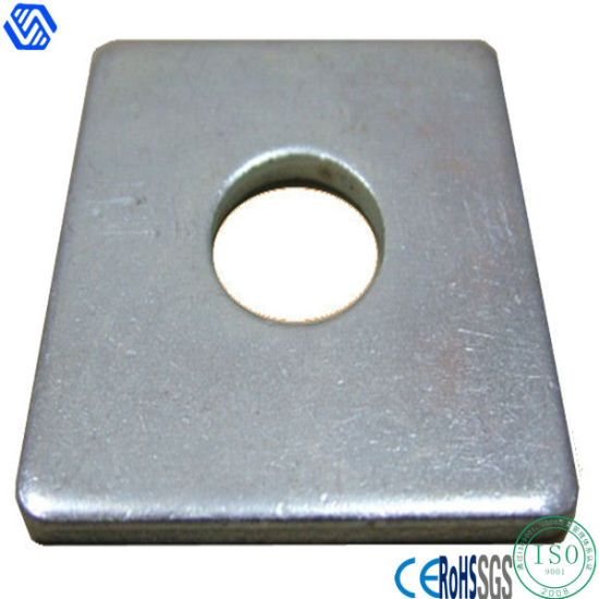 Stainless Steel Square Plate Washers  sc 1 st  Shenzhen Bailian Hardware Co. Ltd. & China Stainless Steel Square Plate Washers - China Washer Flat Washers