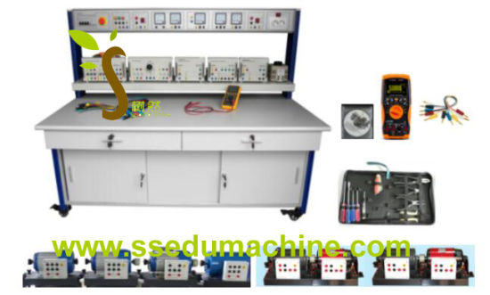 electrical machine training workbench transformer motor generator teaching  equipment
