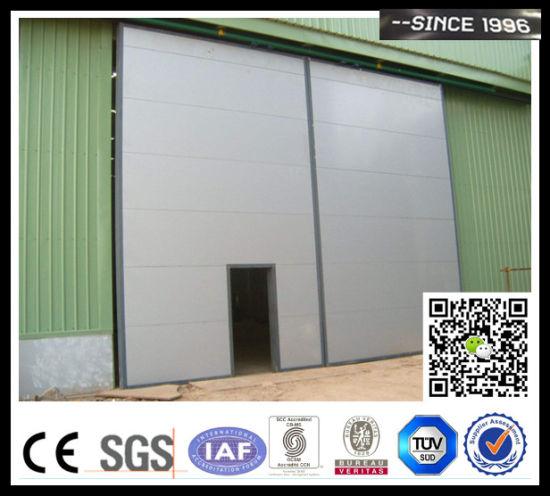 Automatic Steel Aircraft Hangar Sliding Door