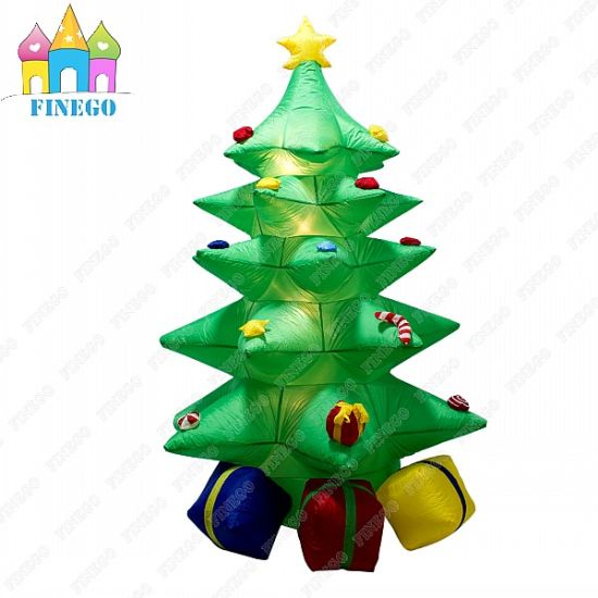 china giant event indoor outdoor inflatable christmas tree with led
