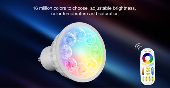 4W GU10 RGB+CCT LED Spotlight pictures & photos