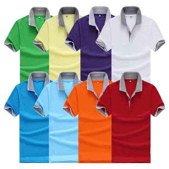 4cabef904 Guangzhou Manufacturer Wholesale Plain Cotton Pre-Shrunk Hotsale Polo Shirt  for Men Factory Cheap pictures