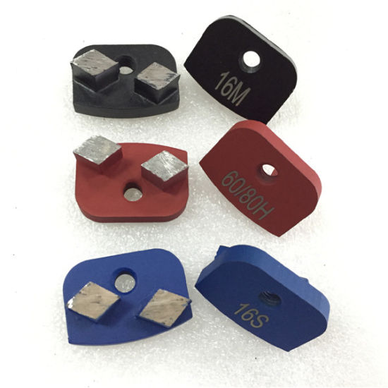 China Newgrind Diamond Metal Grinding Rhombus for Rhino