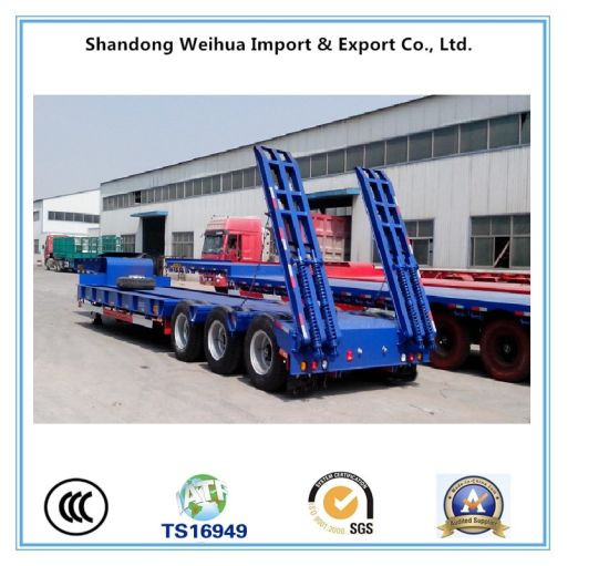 Manufacturer 12 Axles Low Bed Semi Trailer pictures & photos