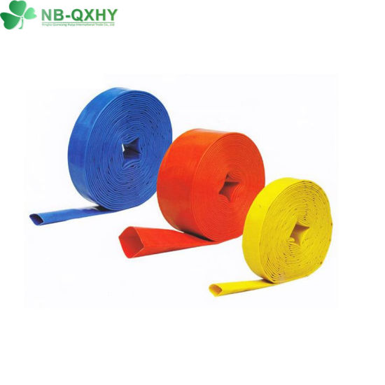 New Material Factory Price Agriculture Layflat Flexible PVC Water Hose