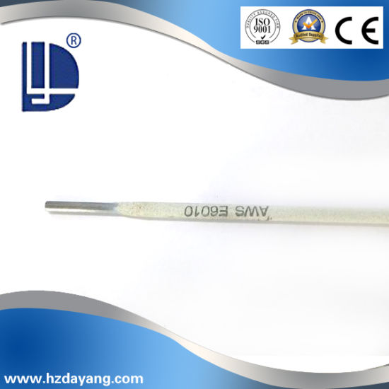 Middle Steel High Quanity E6010 Carbon Steel Welding Rod with Ce and ISO9001 Certification